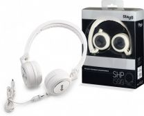 Koptelefoon Stagg SHP-1500 wit