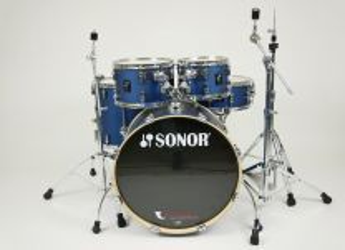 Slagwerk Sonor AQ1 Stage Set wrap dark blue sparkle