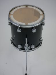 "Floortom DW Collector's 14 x14"" Black Ice nieuwstaat"