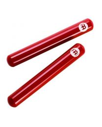 Claves Meinl Fiberglass Red Solid