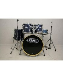 Occasion Drumstel Mapex 5 delig incl. Hardware