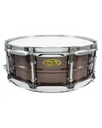 """Snaredrum Worldmax 14x5"""" Brushed Red Copper Brass Shell"""