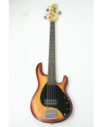 Basgitaar Sterling Sub Ray 5 in Honey Burst Satin