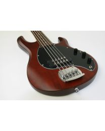 Basgitaar Sterling Sub Ray 5 Walnut Satin by Music Man