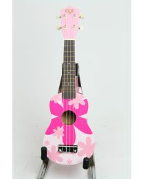 Ukelele Calista 21 Color Pink Flower