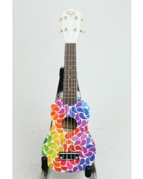 Ukelele Calista 21 Color Rainbow