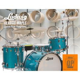 "Shellset Ludwig Classic Maple ""Quick Pick"""