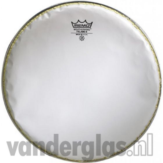 "Snaarvel 14"" Remo falams wit"