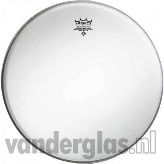 "Slagvel 14"" Remo Emperor wit coated"