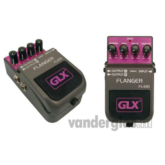Effect pedal GLX FL100 stomp box flanger