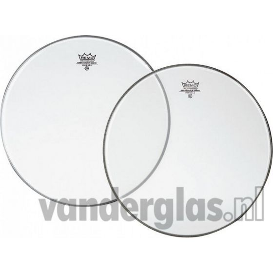 "Snaarvel 14"" Remo diplomat clear"