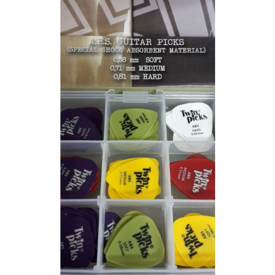 Plectrum Twin Picks A.B.S.
