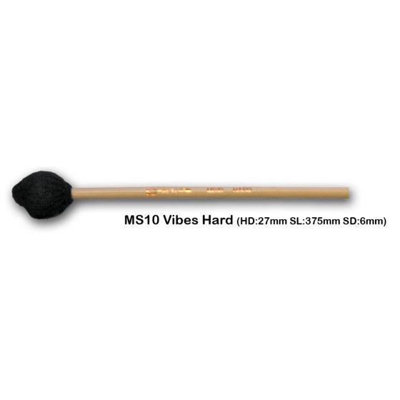 Vibrafoonmallets Chalklin Hard MS10