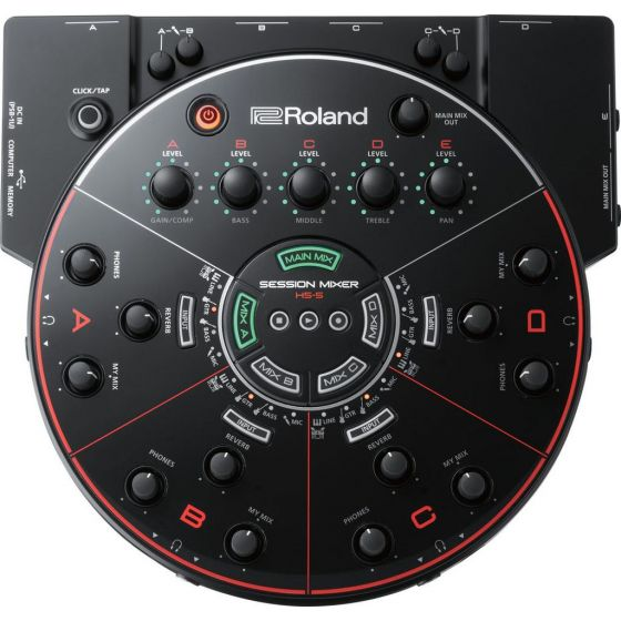 Sesson Mixer HS-5 Roland Demo