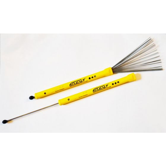 Brushes FACUS signature yellow soft rubber