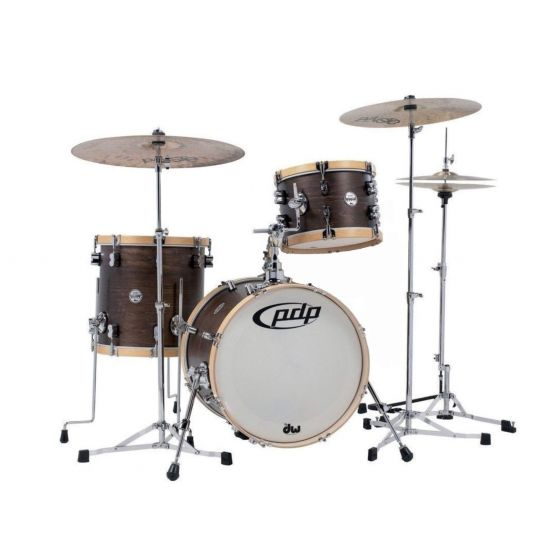 Drumstel PDP Concept Classic walnut / natural ( Shellset)