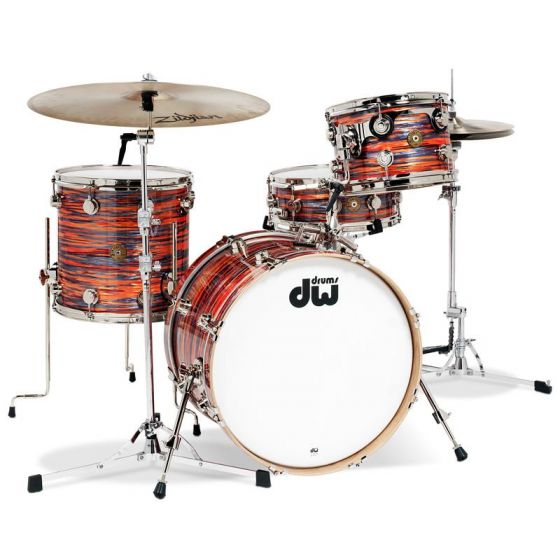 Shellset DW Collector's Tiger Oyster Finish Ply