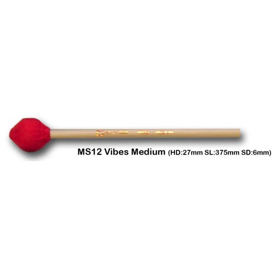 Vibrafoonmallets Chalklin Medium MS12
