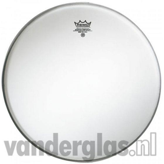 "Slagvel 10"" Remo Emperor wit coated"
