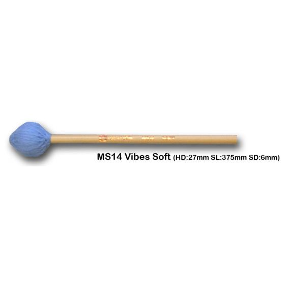 Vibrafoonmallets Chalklin Soft MS14