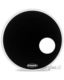 "Resonantievel 20"" Evans EQ3 BD20RS black"