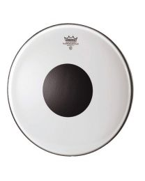 "Slagvel 12"" Remo CS transparant black dot"