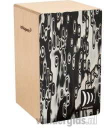 Cajon Schlagwerk Percussion CP-4017 Black eyes