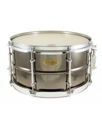 "Snaredrum Worldmax 13""x7"" inch Beaded Brass, Black Nickel"
