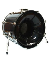 Drumport Black Fibre 22""