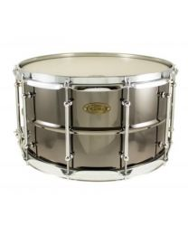 "Snaredrum Worldmax 14""x 8"" Beaded Brass, Black Nickel"