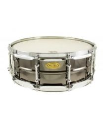 "Snaredrum Worldmax 14"" x 5"" Beaded Brass, Black Nickel"