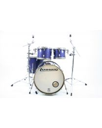Drumstel Ludwig Keystone In Blue sparkle, shellset