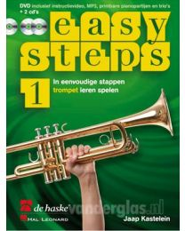 Muziekboek Trompet Easy Steps deel 1