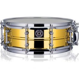 "Drumgear Snareworks 14x5 ""Gold Chrome"" steel"