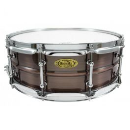 "Snaredrum Worldmax 14"" x5"" Brushed Red Copper Brass Shell"