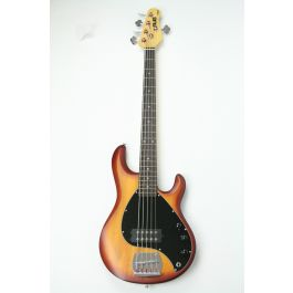 Basgitaar Sterling Sub Ray 5 Honey Burst Satin by Music Man