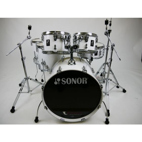Slagwerk Sonor AQ1 Stage Set 6 delig in Piano White