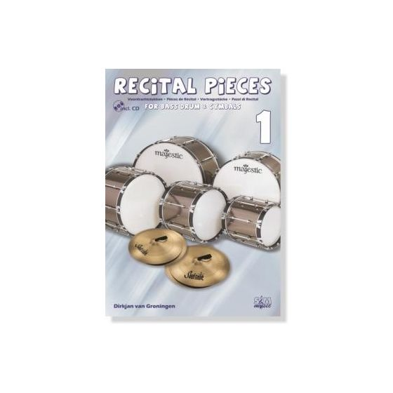 Recital Pieces for Bass Drum & Cymbals 1