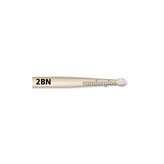 Drumstokken Vic Firth 2B nylon tip