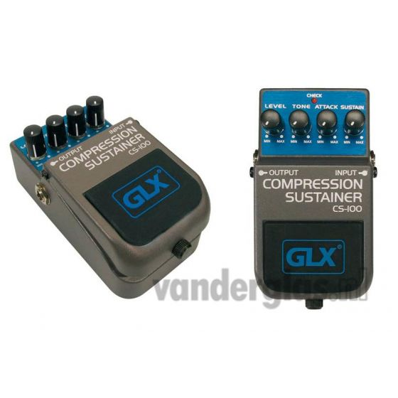 Effect pedal GLX CS100 stomp box sustainer
