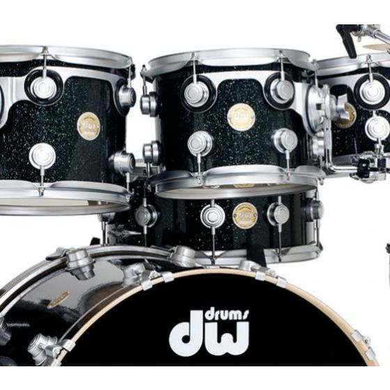 """Snaredrum DW Collector's Black Ice Finish Ply 14"""" x 06"""""""