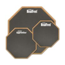"Oefenpad Evans Real Feel 6"" single sided"