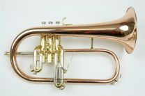 Bb Bugel VDG BRASS Goldbrass body Monel vent.