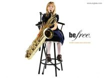 Speelstandaard Be Free saxophoon