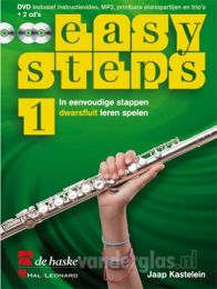 Muziekboek Dwarsfluit Easy Steps deel 1