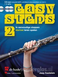 Muziekboek Klarinet Easy Steps deel 2