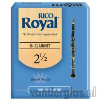 Klarinetriet Rico Royal 3
