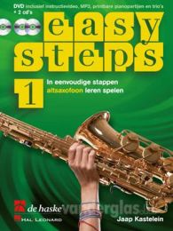 Muziekboek Altsax Easy Steps deel 1