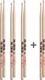 Drumstokkenset Vic Firth 5A 3+1 GRATIS