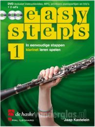 Muziekboek Klarinet Easy Steps deel 1